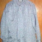 Southern Lady Grey Multi  Patterned  Blouse  SZ 18