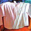Pink White Teens Fancy Sweatshirt Size 14
