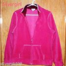 Fuchsia Old Navy Polar Fleece Jacket SZ L