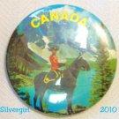 Canada Royal Mounted Police Centennial 1967 Pinback