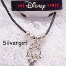 The Disney Store Best Friend Black Cord Anklet 9 1/4""