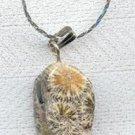 Brecciated OR Picture Jasper Gemstone Necklace Silver Chain