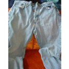 LIGHT DENIM WORN LOOK MENS BOYS BLUEJEANS sz 30-30""