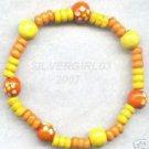Fun In The Sun Colorful Wooden Bracelet