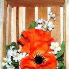 FLOWER ARRANGEMENT IN A CUTE CRATE