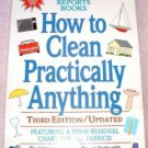 How to Clean Practically Anything 3rd EDITION