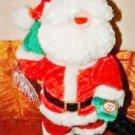 """13"""" Tall Dancing Jolly Santa"""