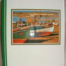 "Large 19 Page Boat Dock Photo Album 10"" x 11"""