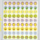"216 Easter Stickers Each 5/8"" Round"