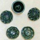 Vintage Lacy Dark Navy Button Mix