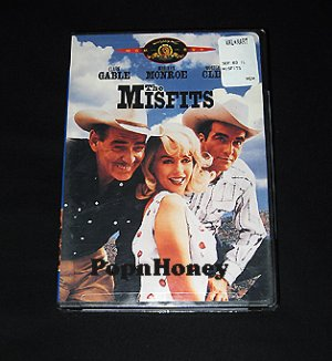 NEW The Misfits DVD Clark Gable Marilyn Monroe
