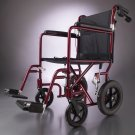 "New Lightweight Transport Wheelchair/Wheel Chair 12"" Wheels"