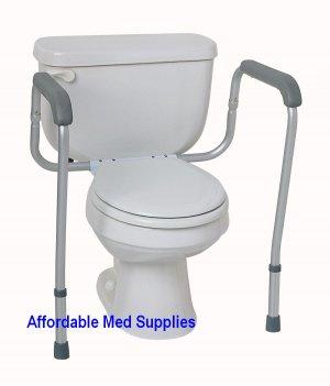 New Adjustable Toilet Safety Frame Hand Rails