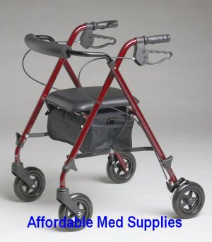 New Super Light Freedom Rollator/Walker Only 10 pounds!