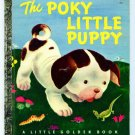 Vintage Little Golden Book THE POKY LITTLE PUPPY