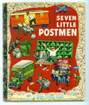 Seven Little Postmen Little Golden Book