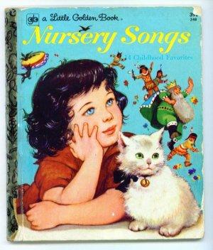 Vintage Little Golden Book ~ Nursery Songs