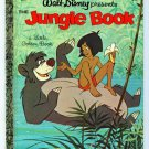 Vintage Little Golden Book THE JUNGLE BOOK 1st Ed