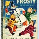 Vintage Little Golden Book ~ FROSTY the Snow Man