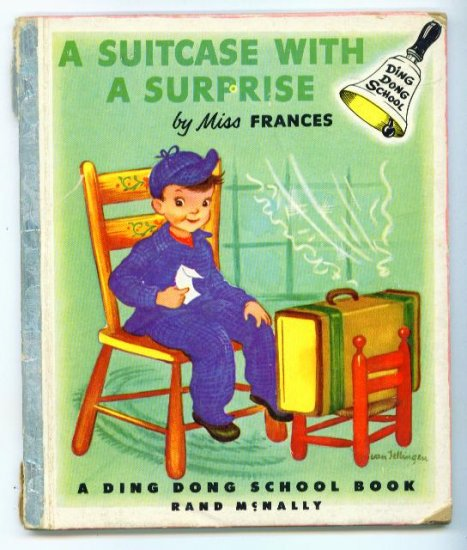 A Suitcase With a Surprise Ding Dong School Book 1st Ed