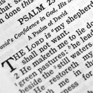 Book Of Psalms - The Song Book Or Hymnal Of Ancient Israel