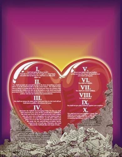 Curriculum Design & Instruction To Teach The Ten Commandments