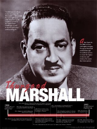 Thurgood Marshall - Civil Rights Attorney & Supreme Court Justice