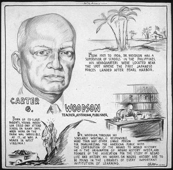Curriculum Design & Instruction To Teach The Story Of Carter G. Woodson