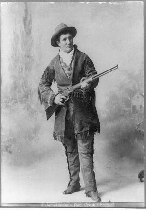 The Story Of Calamity Jane - A Heroine Of The Old West