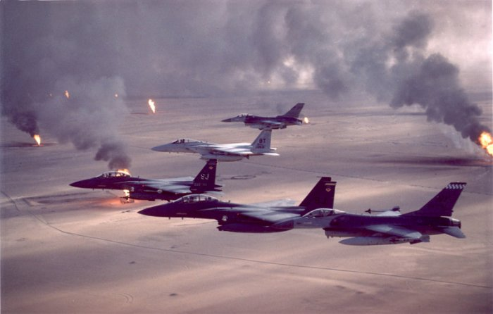 The History Of The Persian Gulf War
