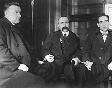 The Sacco & Vanzetti - A Controversial Murder Trial