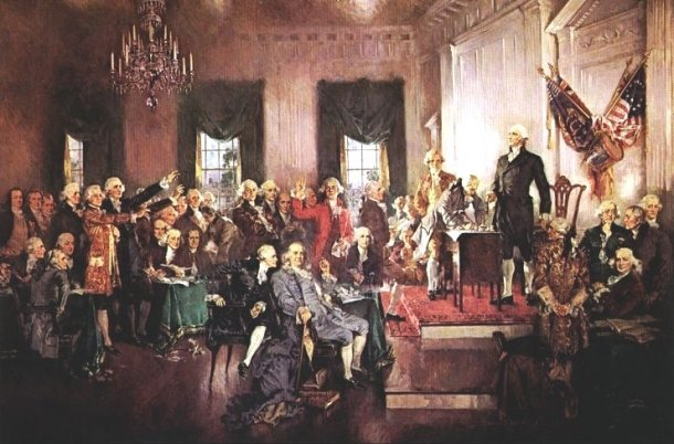 United States History - Americans Build A New Government - Creating A Constitution: 1780 - 1815