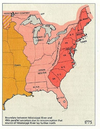 United States History - Europeans Settle New Colonies - Thirteen English Colonies - 1570 - 1760
