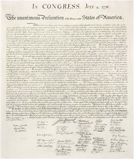 United States History - From Revolution To Independence - Declaring Independence 1754-1783