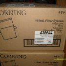 Corning 115ml filter system 430944 Non Pyrogenic, Sterile, Polystyrene, .22um Cellulose Acetate (CA)