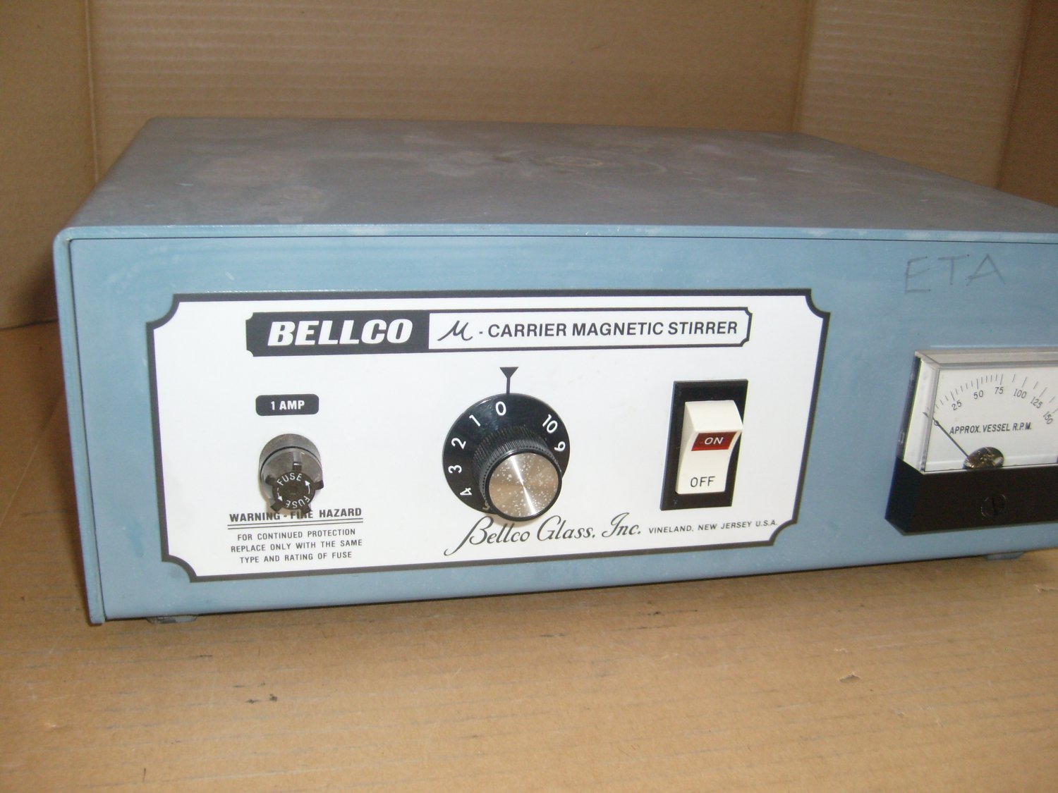 Bellco Slow Speed Laboratory Magnetic Stirrer 150RPM Stirring 1-Place 7765-06003