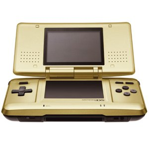 Nintendo DS - Special Edition Gold