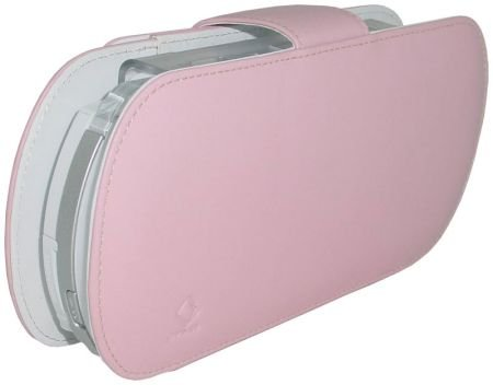 Capdase Leather Case with S-Bracket (Pink)