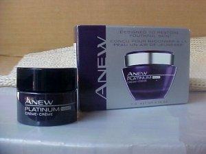 Avon Anew Platinum Night Cream Trial Size