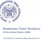 2008 Harmonized Tarrif Schedule CD