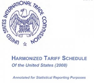 2008 Harmonized Tarrif Schedule CD