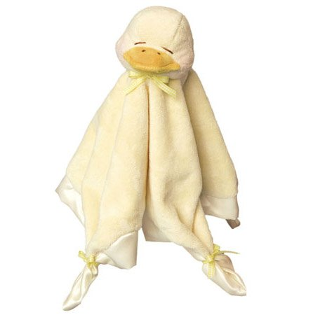 Douglas Plush Yellow Duck Blankie - Best & Softest on Market!