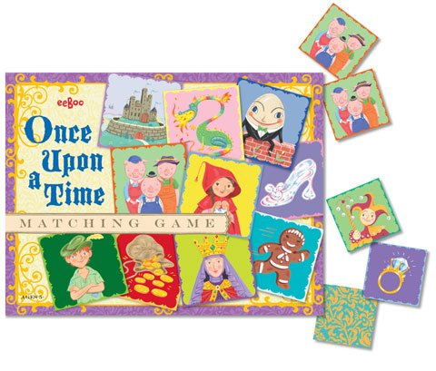 NEW Eeboo Once Upon a Time Matching Game