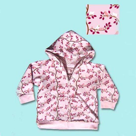 Funktion Pink Bird Groovy Toddler Hoodie Sweatshirt