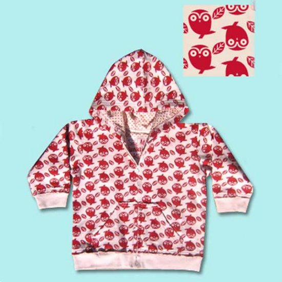 Funktion Hip Red Owl Toddler Hoodie Sweatshirt