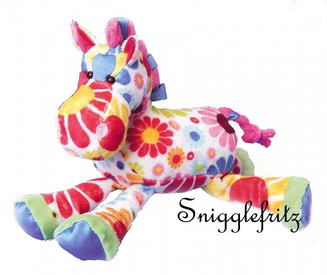 Douglas Hippie GRETA White Flower Horse - SO SOFT!!!