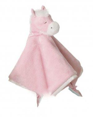 Douglas Plush Pink Horse Blankie - Best & Softest on Market!
