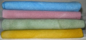Rug Hooking Wool *French Pastels* 4p Fat Quarter Artisan