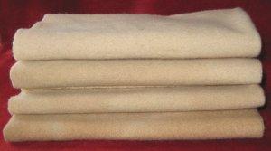 """Rug Hooking Wool """"Cashmere"""" 4p Fat Quarter Artisan Wools"""