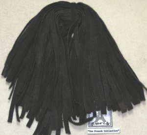 Rug Hooking Strips *Antique Black* #8 Cushing Dyes Artisan Wools